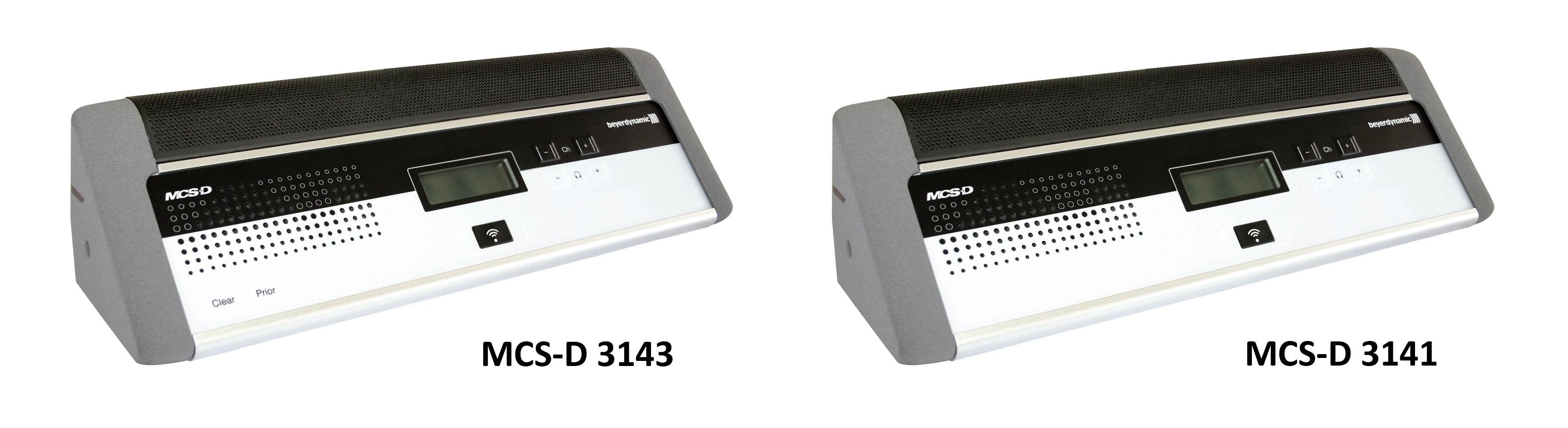 یونیت کنفرانس دیجیتال محصول کمپانی Beyerdynamic ( بیرداینامیک ) مدل MCS-D 3141 , 3143