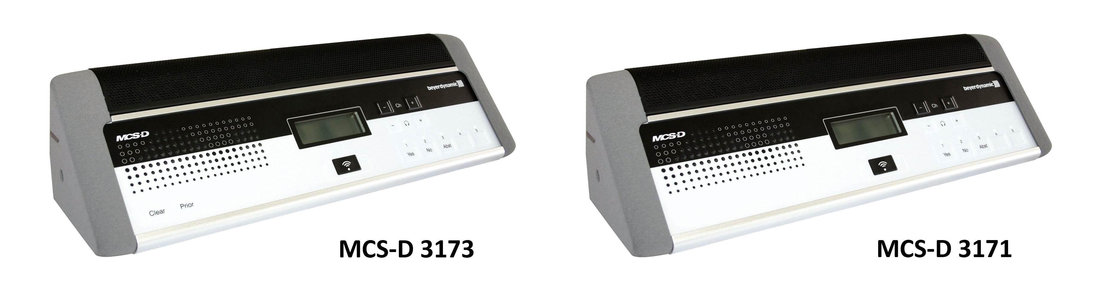 یونیت کنفرانس دیجیتال محصول کمپانی Beyerdynamic ( بیرداینامیک ) مدل MCS-D 3171 , 3173
