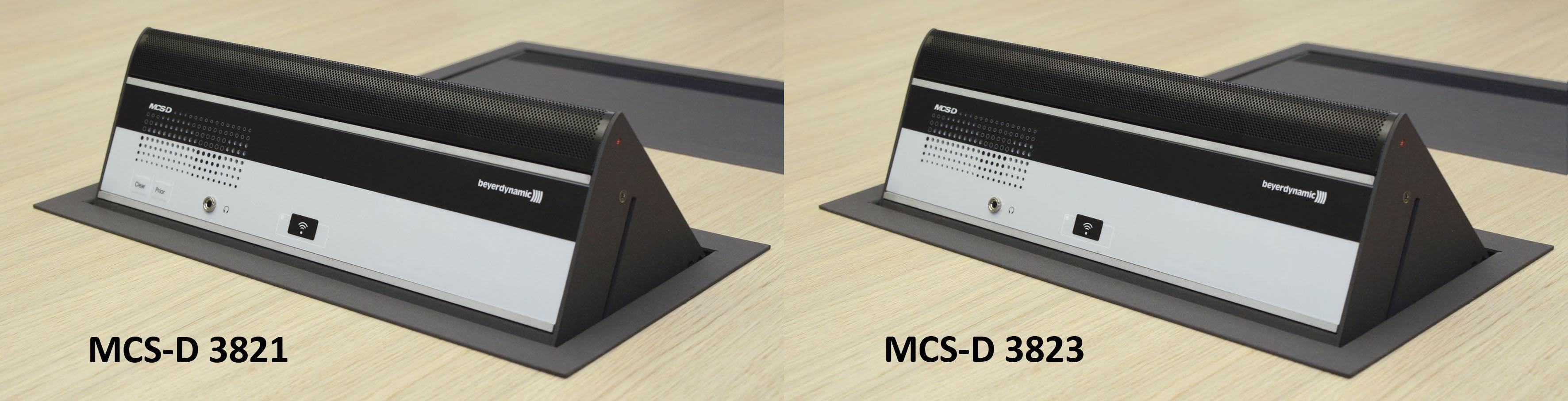 یونیت کنفرانس دیجیتال محصول کمپانی Beyerdynamic ( بیرداینامیک ) مدل MCS-D 3821 , 3823