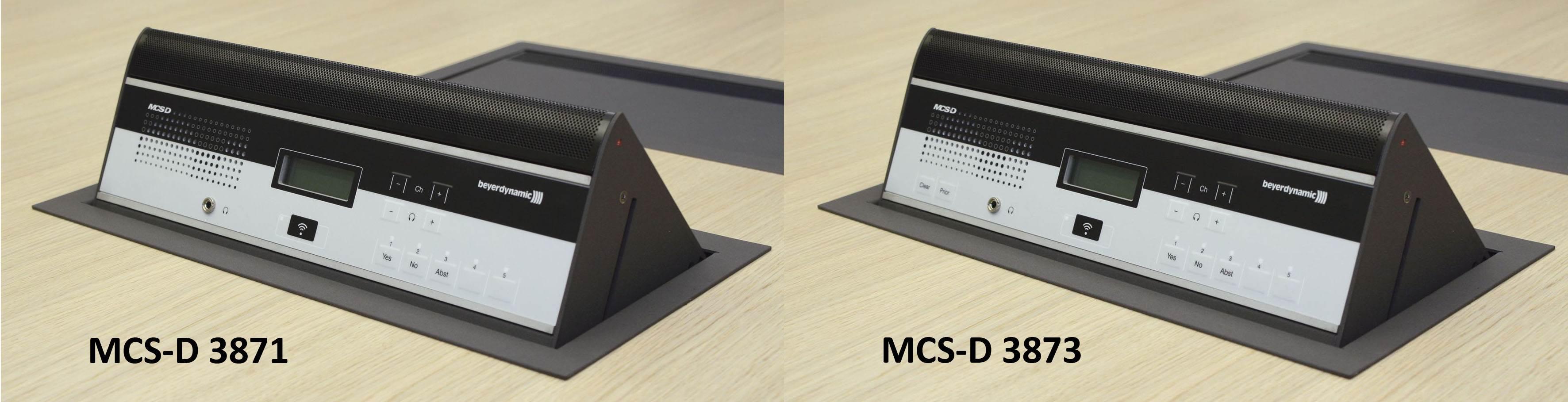 یونیت کنفرانس دیجیتال محصول کمپانی Beyerdynamic ( بیرداینامیک ) مدل MCS-D 3871 , 3873