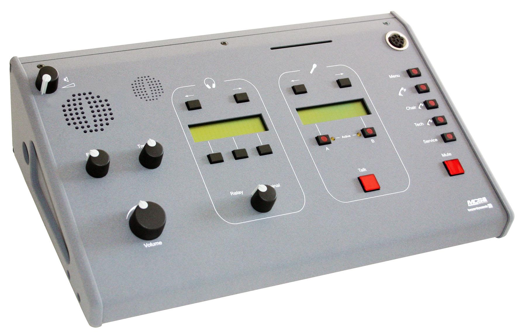 یونیت مترجم کنفرانس دیجیتال محصول کمپانی Beyerdynamic ( بیرداینامیک ) مدل MCS-D 200