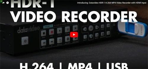فیلم آموزشی رکوردر تصویر حرفه ای دیجیتال Datavideo ( دیتا ویدئو ) مدل HDR1