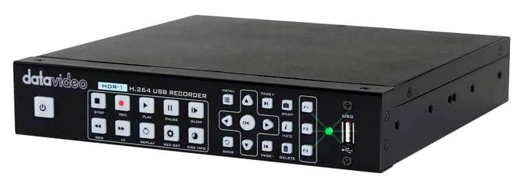 رکوردر تصویر حرفه ای دیجیتال محصول کمپانی Datavideo ( دیتاویدئو ) مدل HDR1