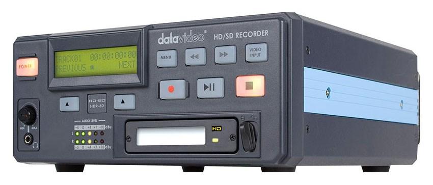 رکوردر تصویر حرفه ای دیجیتال محصول کمپانی Datavideo ( دیتاویدئو ) مدل HDR60