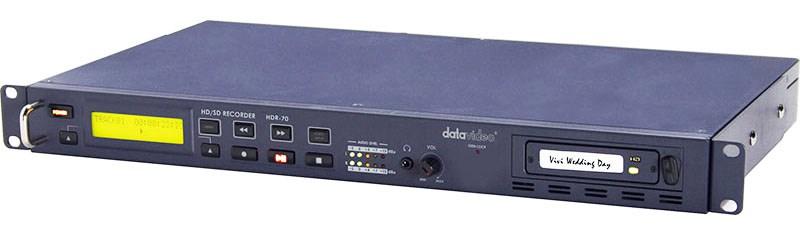 رکوردر تصویر حرفه ای دیجیتال محصول کمپانی Datavideo ( دیتاویدئو ) مدل HDR70