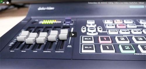 فیلم آموزشی میکسر تصویر دیجیتال Datavideo مدل SE 500 HD