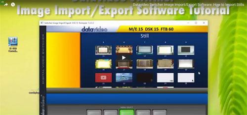 فیلم آموزشی میکسر تصویر دیجیتال Datavideo مدل SE 700
