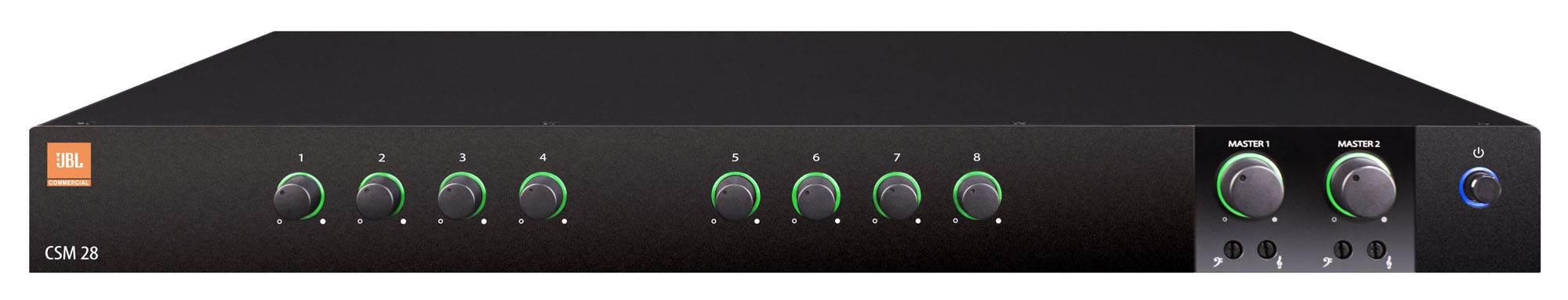 میکسر و پری آمپ آنالوگ محصول کمپانی JBL ( جی بی ال ) مدل CSM 28