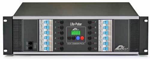 دیمر نور حرفه ای محصول کمپانی Lite Puter ( لایت پوتر ) مدل DX1227