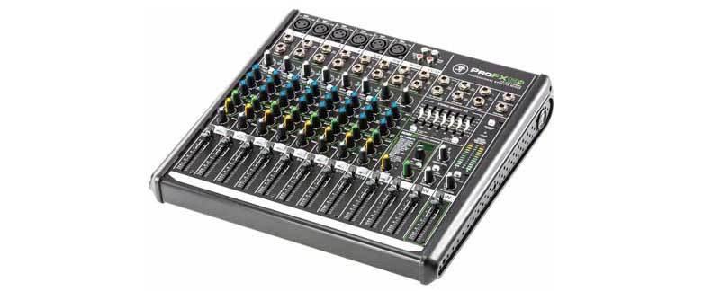 میکسر صوتی آنالوگ محصول کمپانی Mackie (مکی ) سری ProFX12 v2