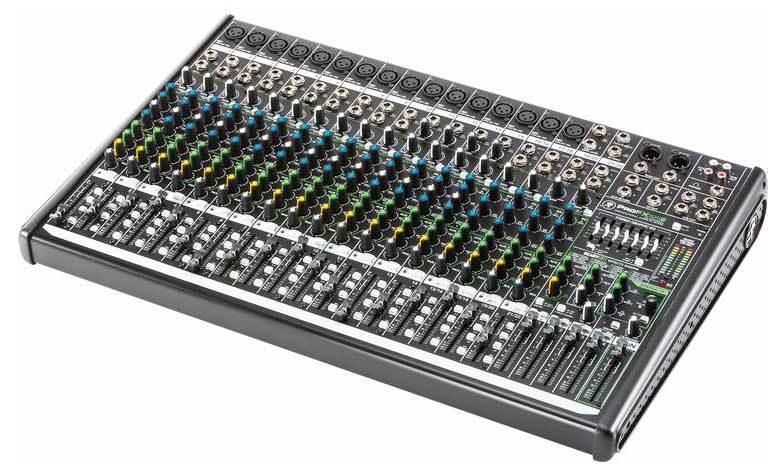 میکسر صوتی آنالوگ محصول کمپانی Mackie (مکی ) سری ProFX22 v2