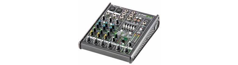 میکسر صوتی آنالوگ محصول کمپانی Mackie (مکی ) سری ProFX4 v2