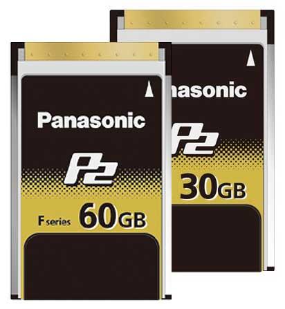 کارت حافظه ویژه رکوردر های تصویر دیجیتال محصول کمپانی Panasonic ( پاناسونیک ) سری F Series P2