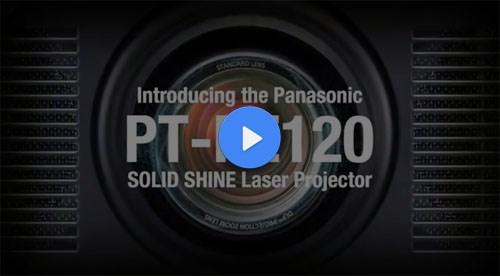 Panasonic PT-RZ120 – فیلم آموزشی و معرفی ويدئو پروجکشن Full HD با تکنولوژی لیزری و قابلیت 24/7