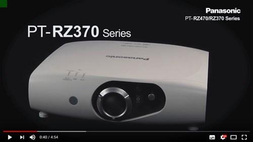 فیلم آموزشی و معرفی ويدئو پروجکشن حرفه ای Full HD با تکنولوژی لیزری (LED/Laser) پاناسونیک مدل Panasonic PT-RZ470/PT-RZ370