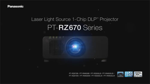 Panasonic PT-RZ670 – فیلم آموزشی و معرفی ويدئو پروجکشن Full HD با تکنولوژی لیزری و قابلیت 24/7
