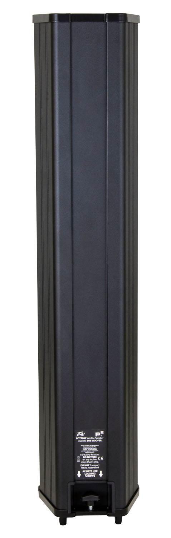 نمای پشت اسپیکر ارری سیستم صوتی پرتابل مارک Peavey سری P2 بهترین گزینه صوتی جهت منازل و سالن های متوسط