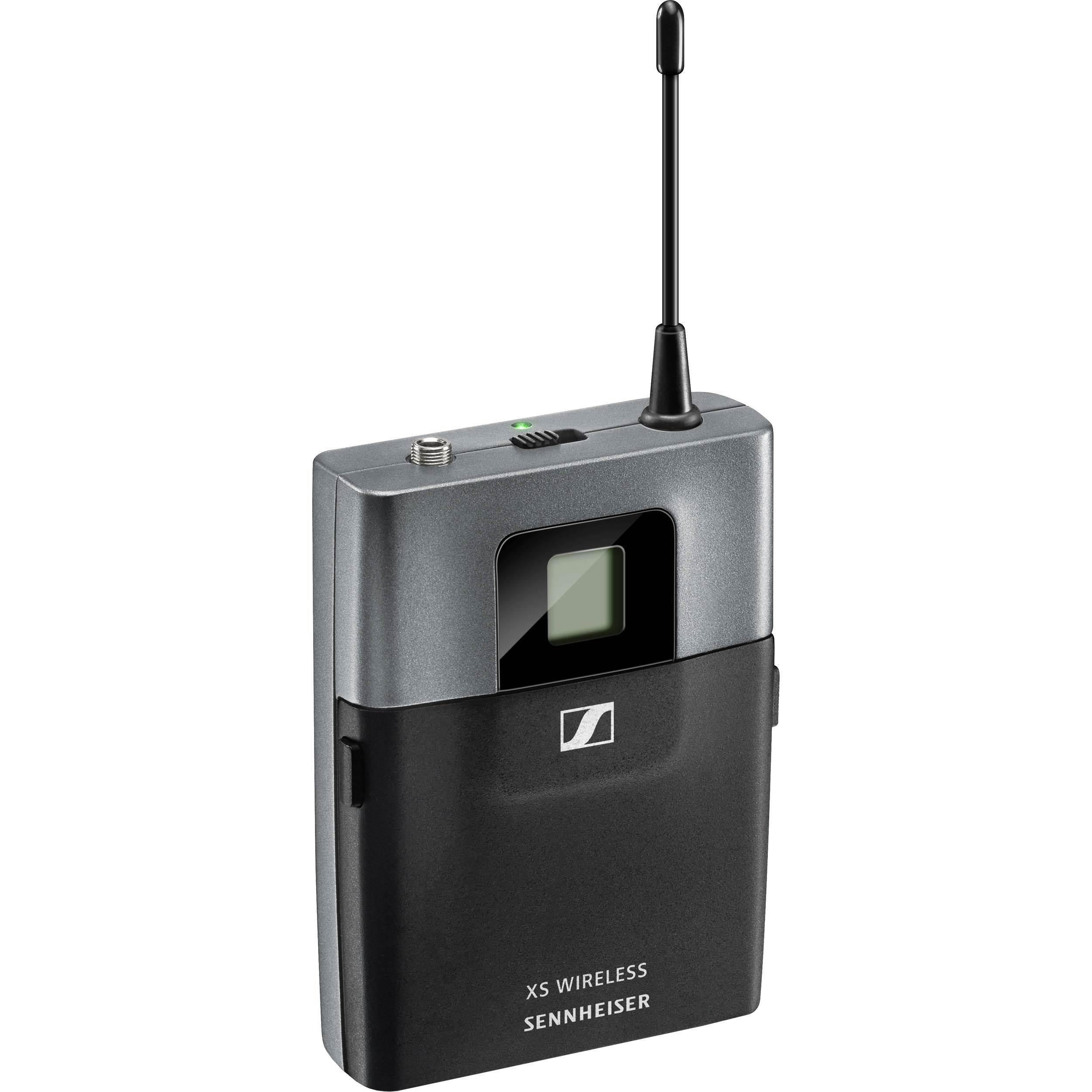 فرستنده کمری میکروفن های بیسیم دیجیتال حرفه ای ساخت کمپانی Sennheiser ( سن هایزر ) سری XSW 2