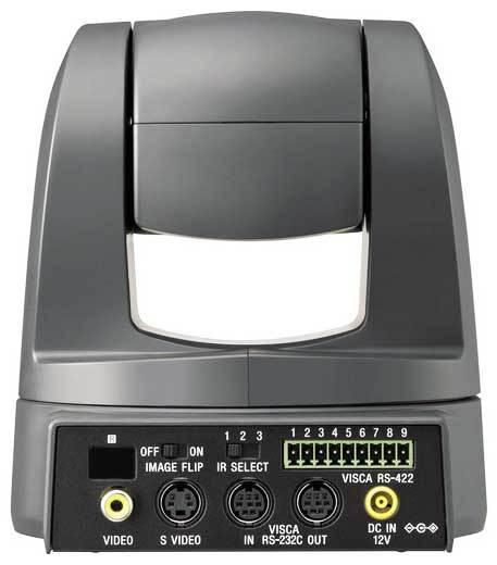 نمای پشت دوربین اسپید دام SpeedDome HD محصول کمپانی SONY ( سونی ) مدل EVI-D70
