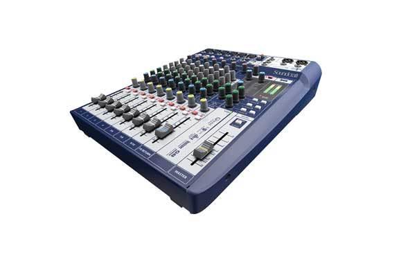 میکسر صوتی آنالوگ محصول کمپانی Soundcraft (ساندکرافت ) مدل Signature 10