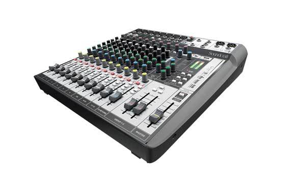 میکسر صوتی آنالوگ محصول کمپانی Soundcraft (ساندکرافت ) مدل Signature 12 MTK 2