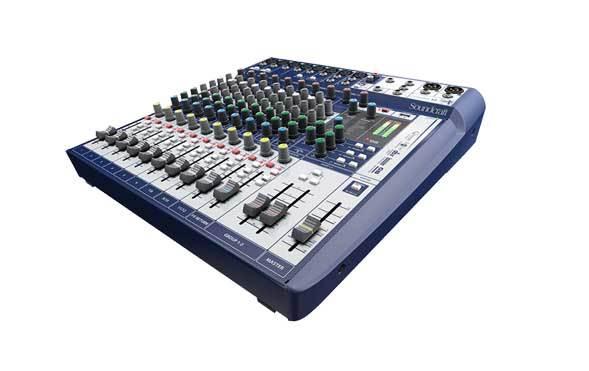 میکسر صوتی آنالوگ محصول کمپانی Soundcraft (ساندکرافت ) مدل Signature 12
