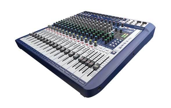 میکسر صوتی آنالوگ محصول کمپانی Soundcraft (ساندکرافت ) مدل Signature 16
