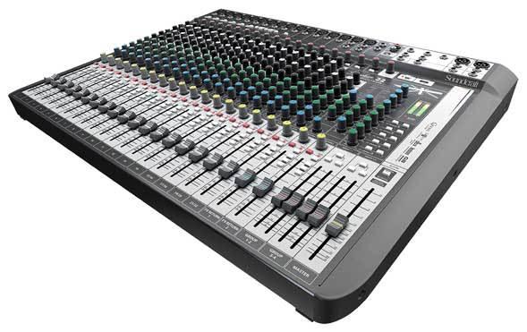 میکسر صوتی آنالوگ محصول کمپانی Soundcraft (ساندکرافت ) مدل Signature 22 MTK 2