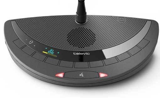 سیستم کنفرانس دیجیتال محصول کمپانی Televic ( تلویک ) مدل Confedia T-DI