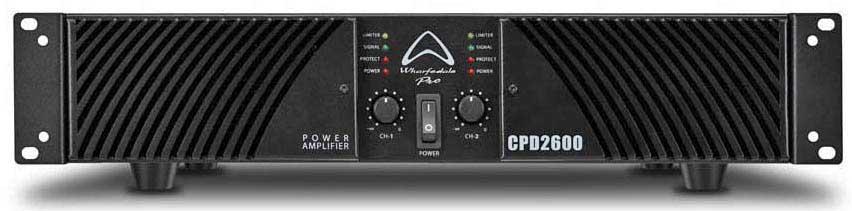 پاور آمپلی فایر حرفه ای ساخت کمپانی Wharfedale ( وارفیدل ) مدل CPD2600