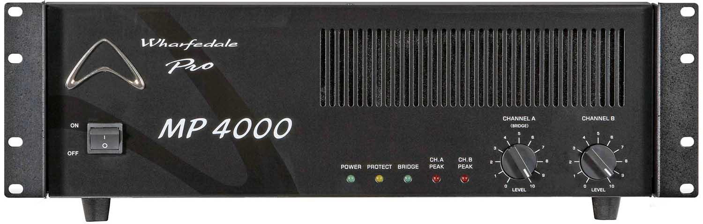 پاور آمپلی فایر حرفه ای ساخت کمپانی Wharfedale ( وارفیدل ) مدل MP 4000
