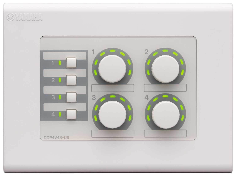 پنل کنترل دیواری محصول کمپانی YAMAHA ( یاماها ) مدل DCP4V4S
