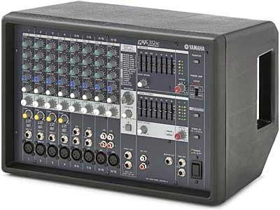 پاور میکسر های صوتی محصول کمپانی Yamaha ( یاماها ) مدل EMX 312 SC