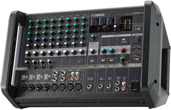 پاور میکسر های صوتی محصول کمپانی Yamaha ( یاماها ) مدل EMX 5