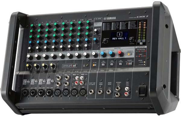 پاور میکسر های صوتی محصول کمپانی Yamaha ( یاماها ) مدل EMX 7