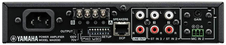 میکسر آمپلی فایر صوتی محصول کمپانی YAMAHA ( یاماها ) مدل MA2030