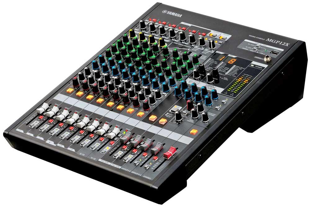 میکسر های صوتی محصول کمپانی Yamaha ( یاماها ) مدل MGP 12X