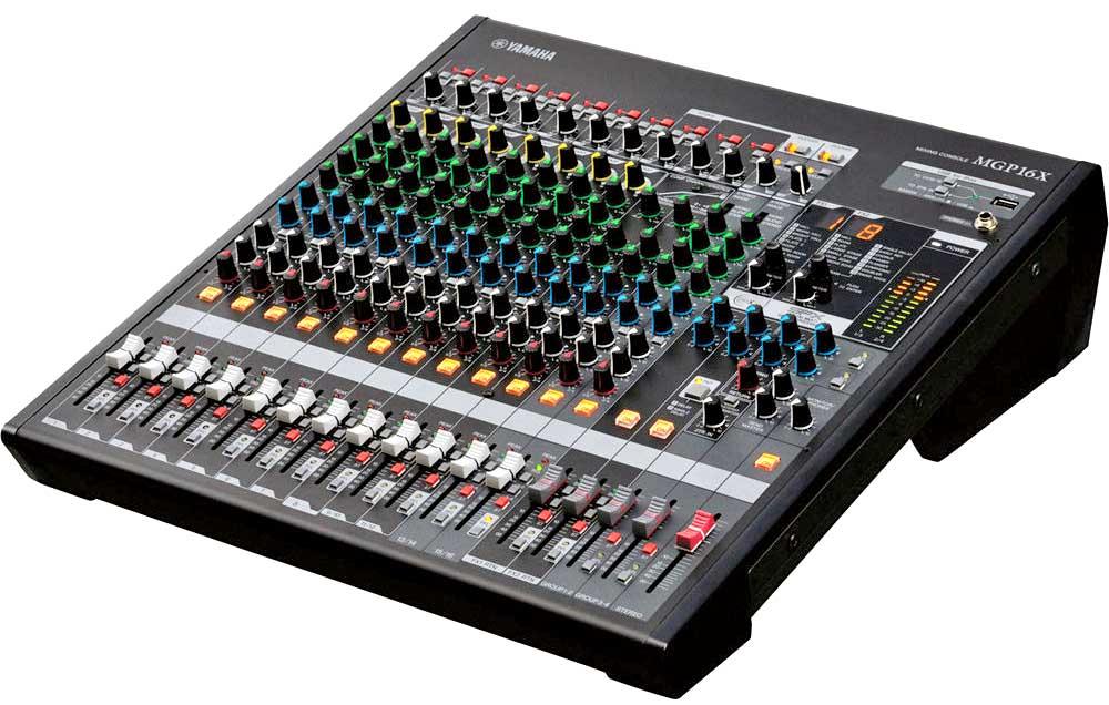 میکسر های صوتی محصول کمپانی Yamaha ( یاماها ) مدل MGP 16X