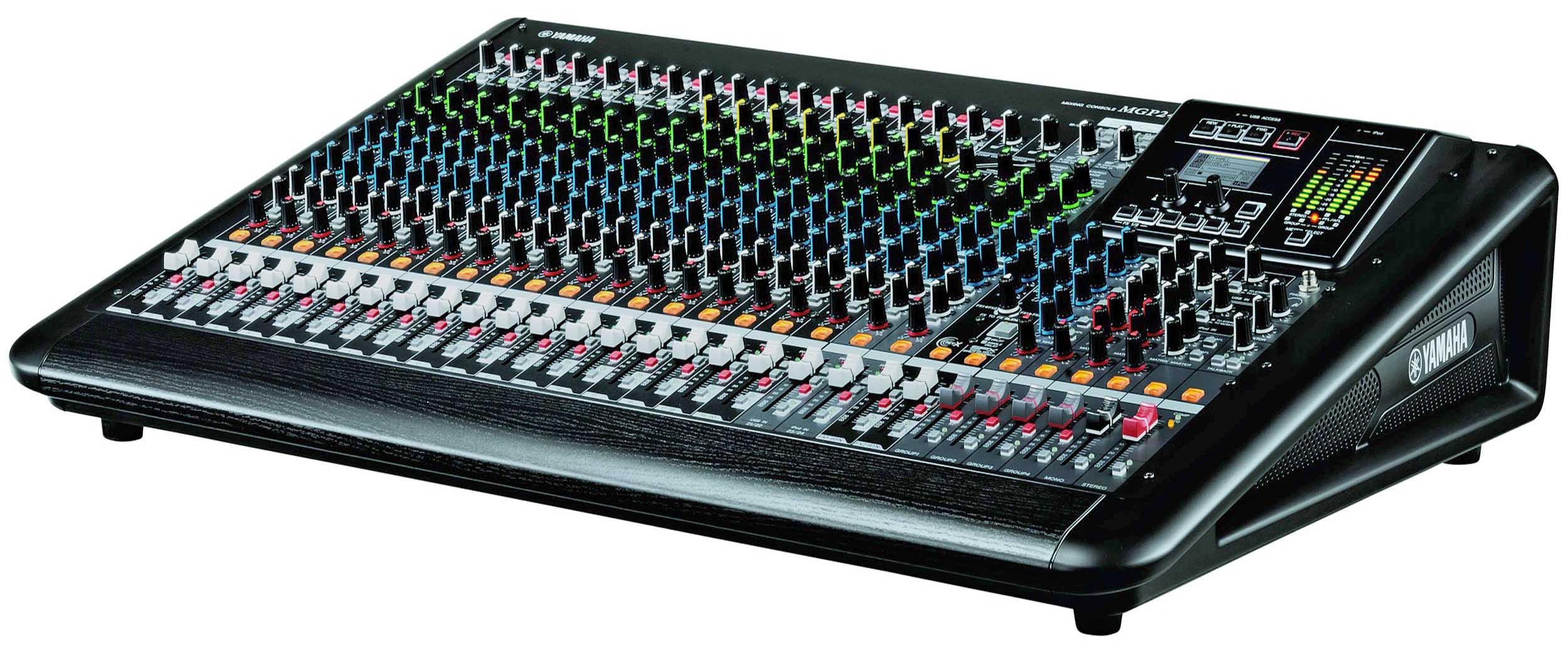 میکسر های صوتی محصول کمپانی Yamaha ( یاماها ) مدل MGP 24X