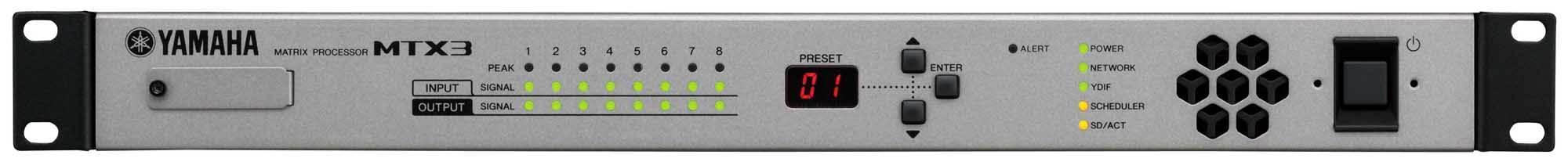 میکسر ، پری آمپ و پروسسور هوشمند صوتی محصول کمپانی YAMAHA ( یاماها ) مدل MTX3
