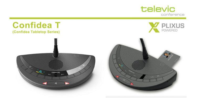 Televic Confidea T - سیستم کنفرانس دیجیتال با قابلیت اتو ترکینگ و رای گیری