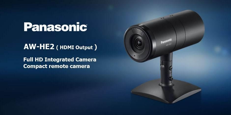 دوربین ثابت Full HD محصول کمپانی Panasonic ( پاناسونیک ) مدل AW-HE2
