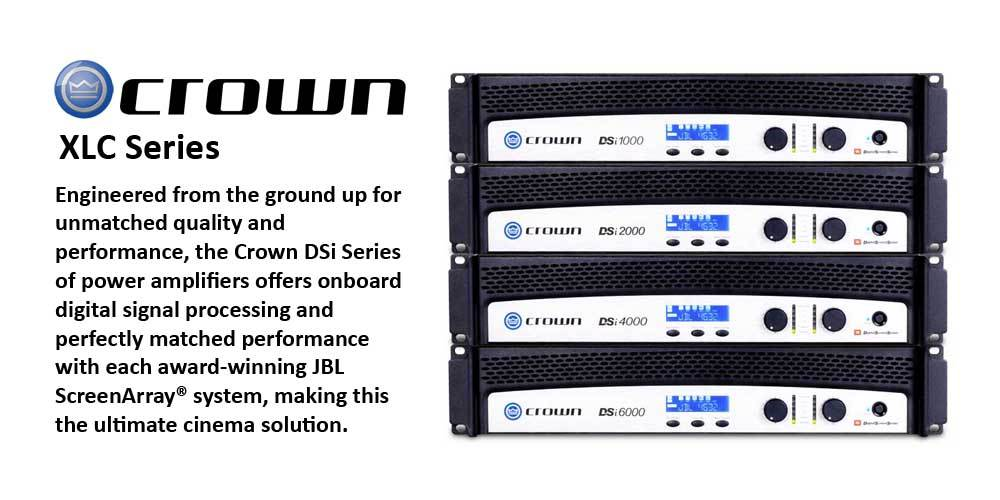 پاور آمپلی فایر های 2 کانال سری سینمایی محصول کمپانی Crown ( کرون ) سری DSi