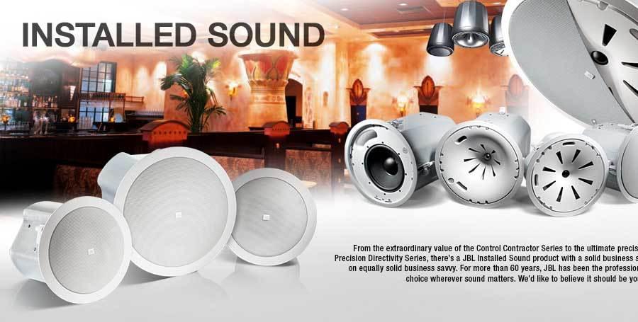 انواع بلندگو های سقفی محصول کمپانی JBL ( جی بی ال ) سری Control ® Contractor Ceiling Speakers