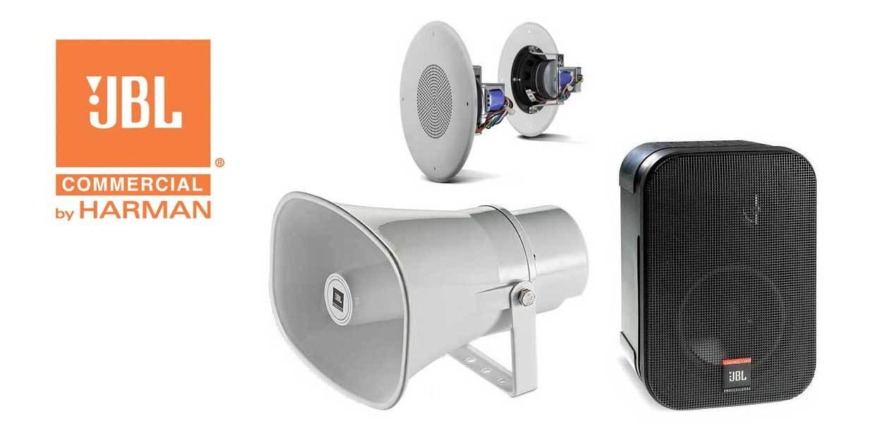 اسپیکر های سقفی و دکوراتیو محصول کمپانی JBL ( جی بی ال ) سری CS Series
