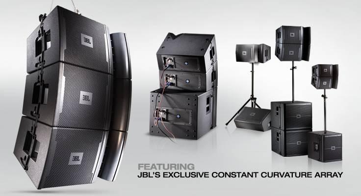 اسپیکر های حرفه ای لاین اری Line Array ساخت کمپانی JBL ( جی بی ال ) سری VRX 900