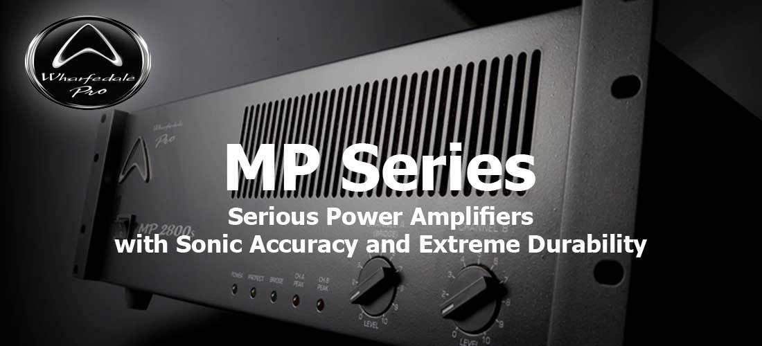 پاور آمپلی فایر حرفه ای ساخت کمپانی Wharfedale ( وارفیدل ) سری MP Series