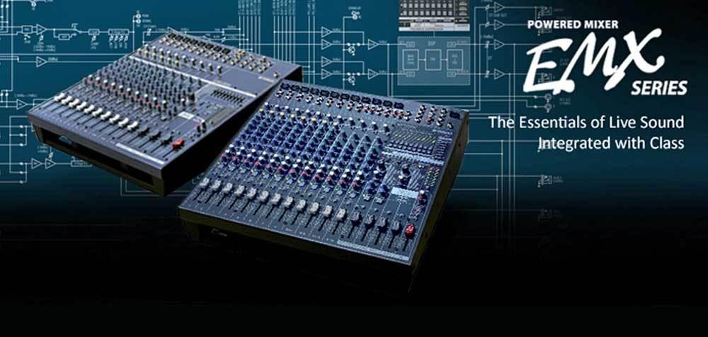 پاور میکسر های صوتی محصول کمپانی Yamaha ( یاماها ) سری EMX Series