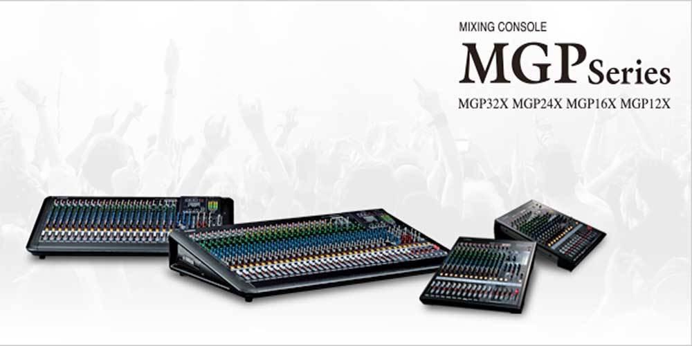 میکسر های صوتی محصول کمپانی Yamaha ( یاماها ) سری MGP Series