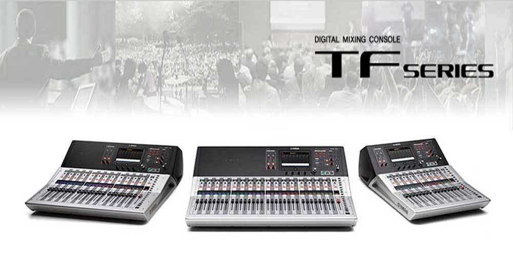 میکسر های صوتی دیجیتال محصول کمپانی Yamaha ( یاماها ) سری TF Series